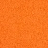 Orange terry towel 30*50 cm