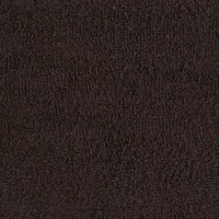 Dark brown terry towel 30*50 cm