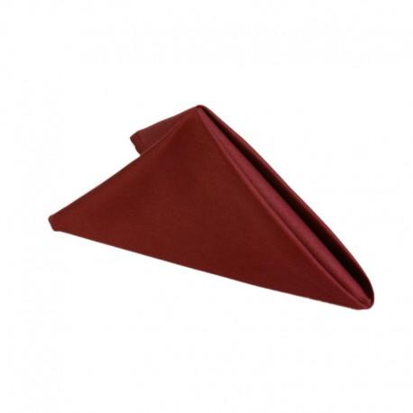 Napkin 50*50 cm, burgundy red, 100% cotton