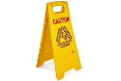 """Floor sign """"Wet floor"""""""