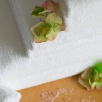 Terry towel 100*150 cm white