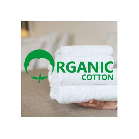 Terry towel ORGANIC 50*70 cm white