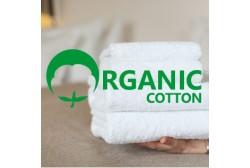 Terry towel ORGANIC 70*140 cm white