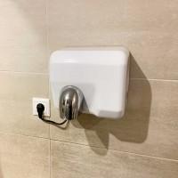 Hand-dryer 2500 W anti vandalism white