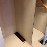 Деревянная щетка одежды 38 cm
