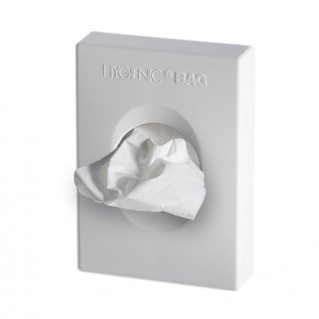 Hygienic wall dispenser, white