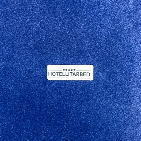 Textile marking with hot press sticker