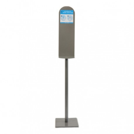 Hand disinfection station stand