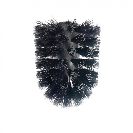 Toilet brush head black for item 3094A