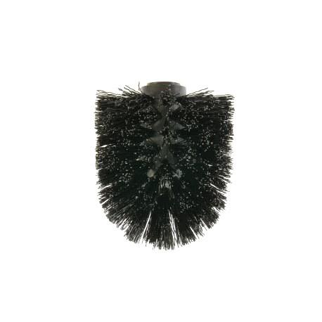 Black toilet brush head for item XH1094