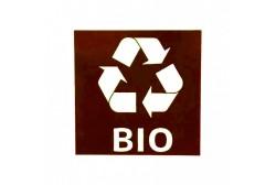 Наклейка для mусорная корзина Bio