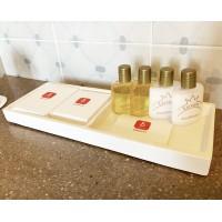Ceramic tray white