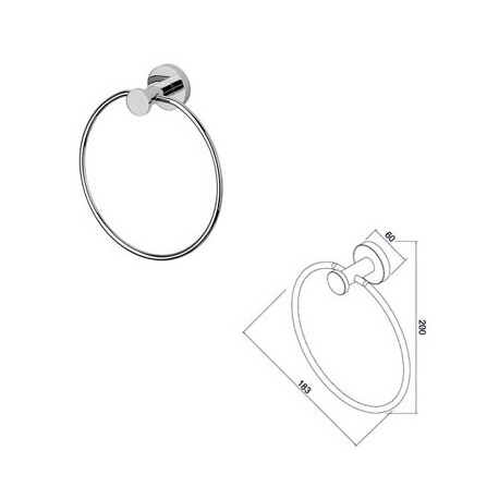 Towel-ring Geesa