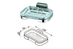 Clear glass tray for 7155 Geesa