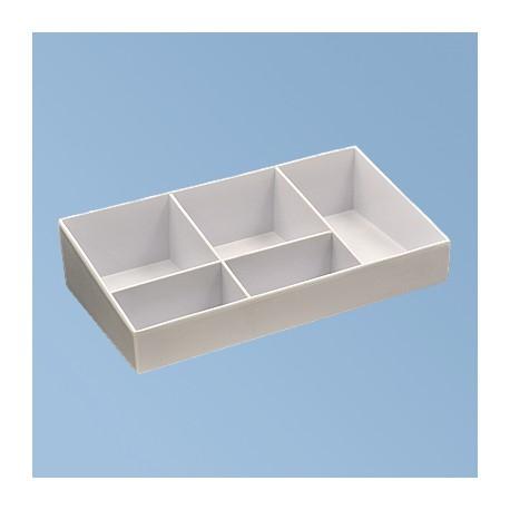 Sachet tray white