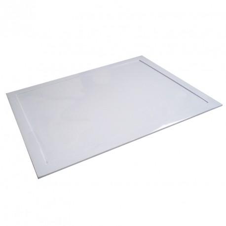 Белый поднос