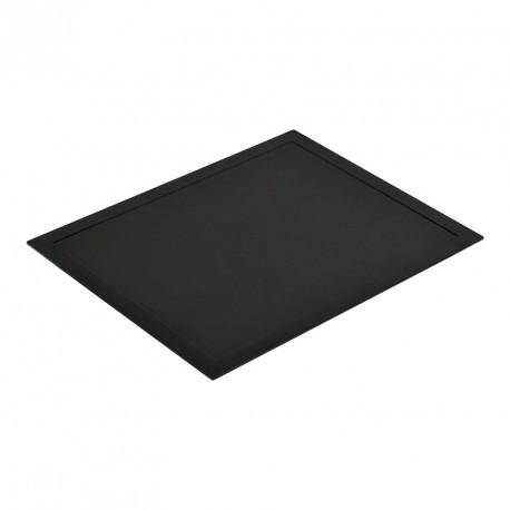 Черный поднос
