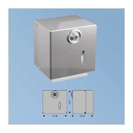 Toilet paper dispenser, mat steel