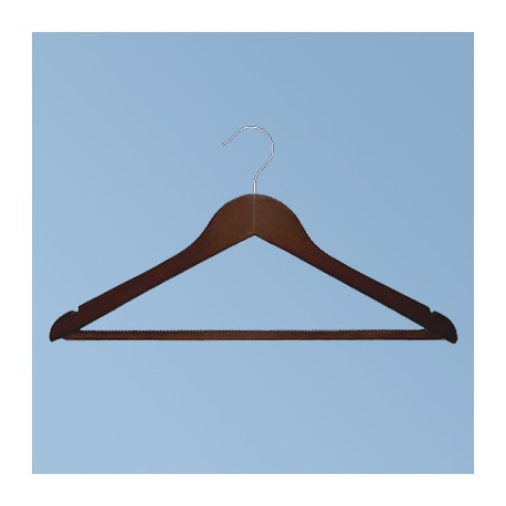 Hanger anti-slip, dark brown