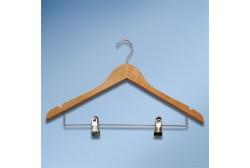 Вешалка с держателем для брюк