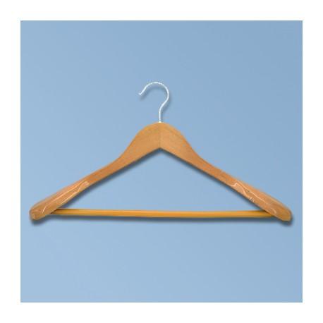Hanger with broad shoulders
