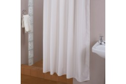 Shower curtain 180*200 cm white