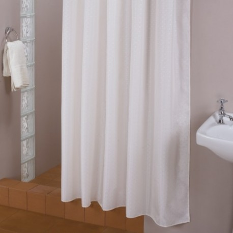 Shower curtain 200*200 cm white