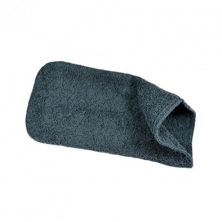 Massage glove grey, terry