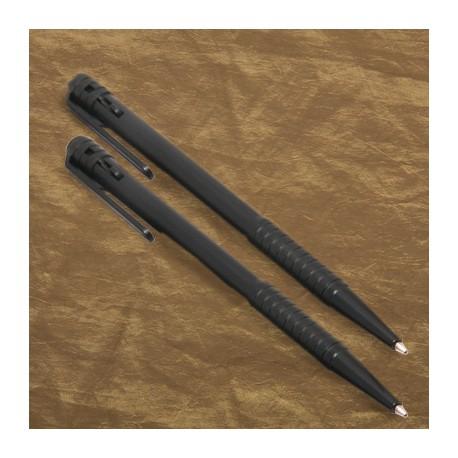 Plastic pen (no logo), black