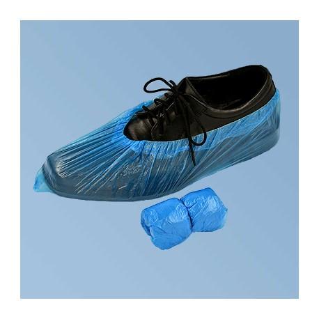 Одноразовые бахилы,синии