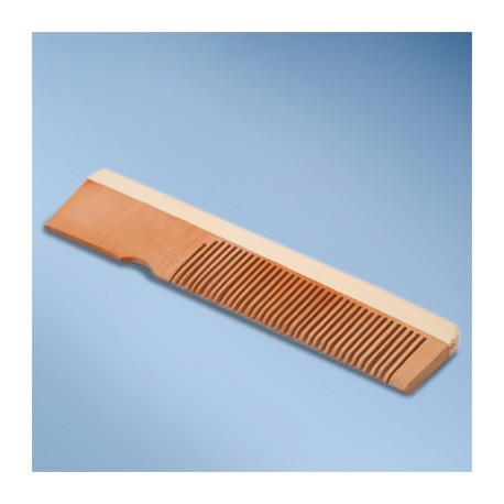Comb, wooden, natural wood