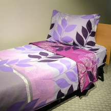 Pattern bed linen Lily