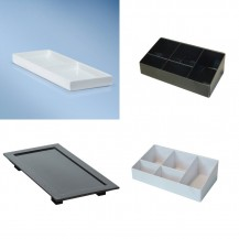Bathroom trays