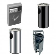 Outdoors ash trays