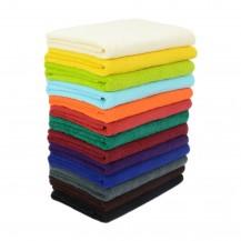 Farvet frottéhåndklæder 75*150 cm