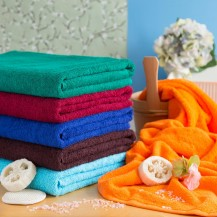 Colour towels 90*170 cm